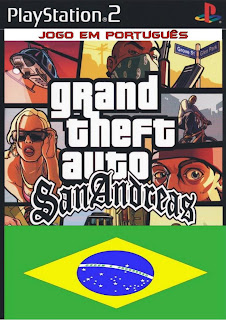 Grand Theft Auto San Andreas - LEGENDADO PT-BR (PS2)
