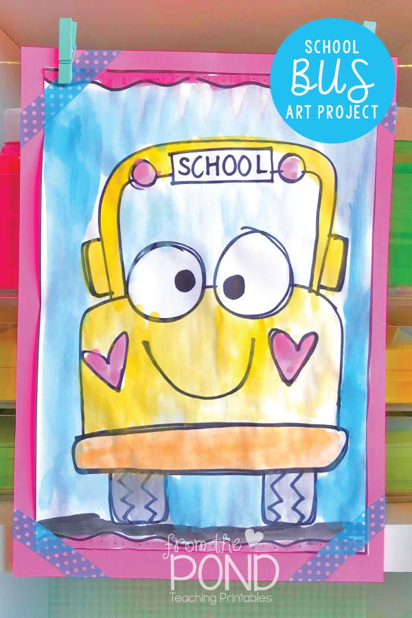 School Bus Drawing : school, drawing, Pond:, School, Directed, Drawing