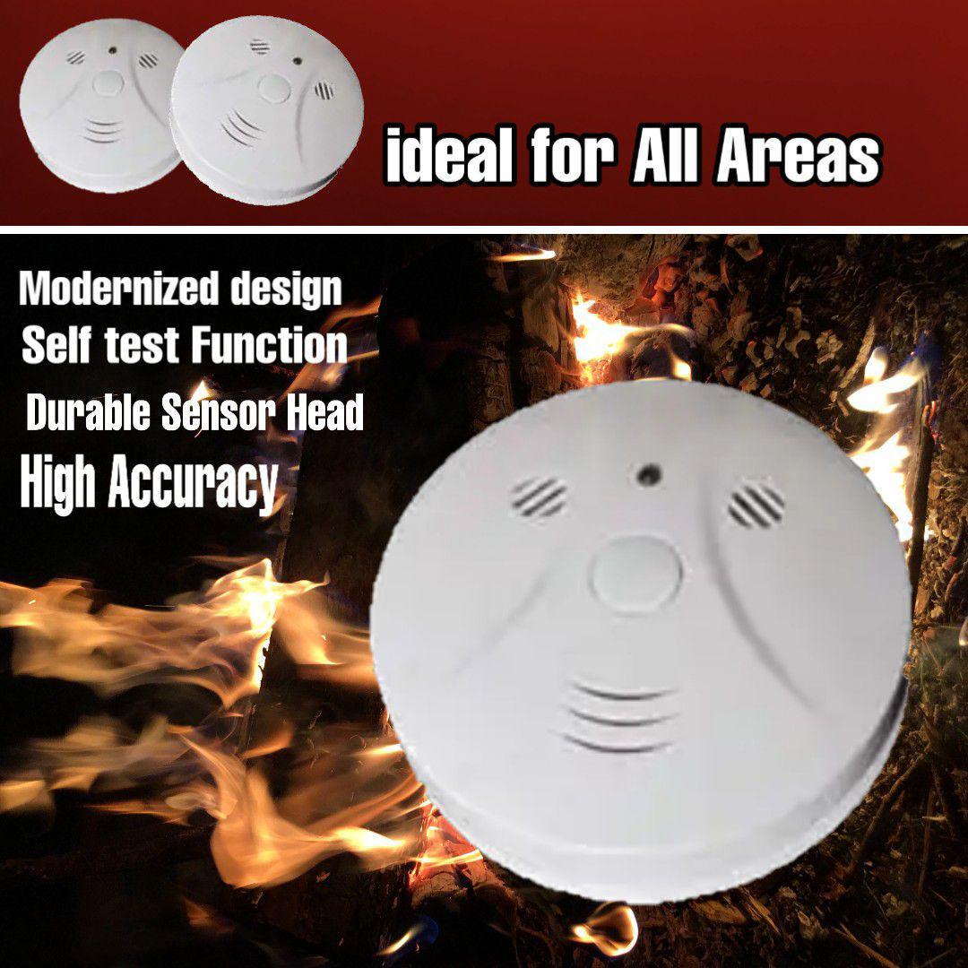 Smoke detector battere portable tanpa instalasi