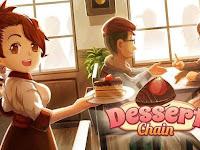 Dessert Chain: Café Waitress & Restaurant Chef Mod Apk (Unlimited Money) Terbaru