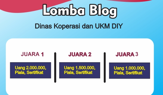 kontes blog indonesia hadiah jutaan