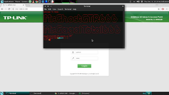 Konfigurasi Access Point Tp-Link Model TL-WA901ND di GNU/Linux