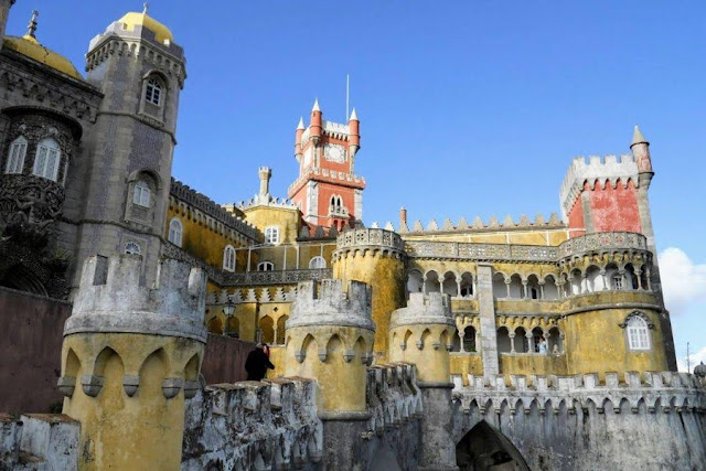 Lisbon for Christmas: Palácio da Pena in Sintra