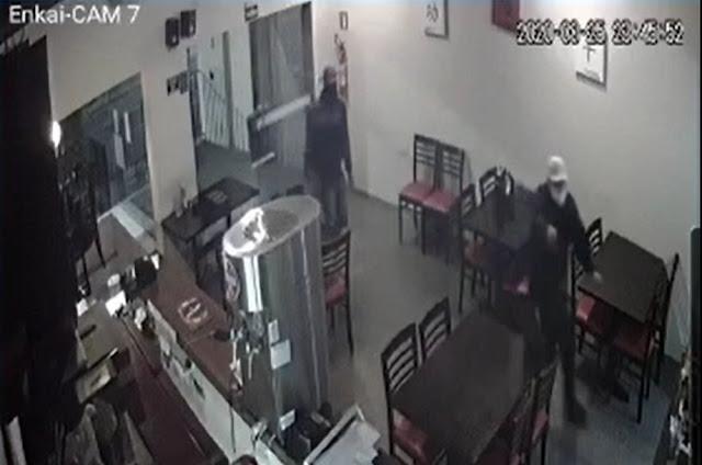 Bandidos armados invadem restaurante, rendem funcionários e roubam estabelecimento em Dracena