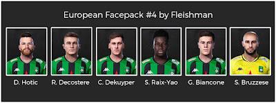 PES 2021 European Facepack #4 by Fleishman