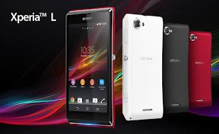 Harga Sony Xperia L, Spesifikasi Layar 4.3 Inches