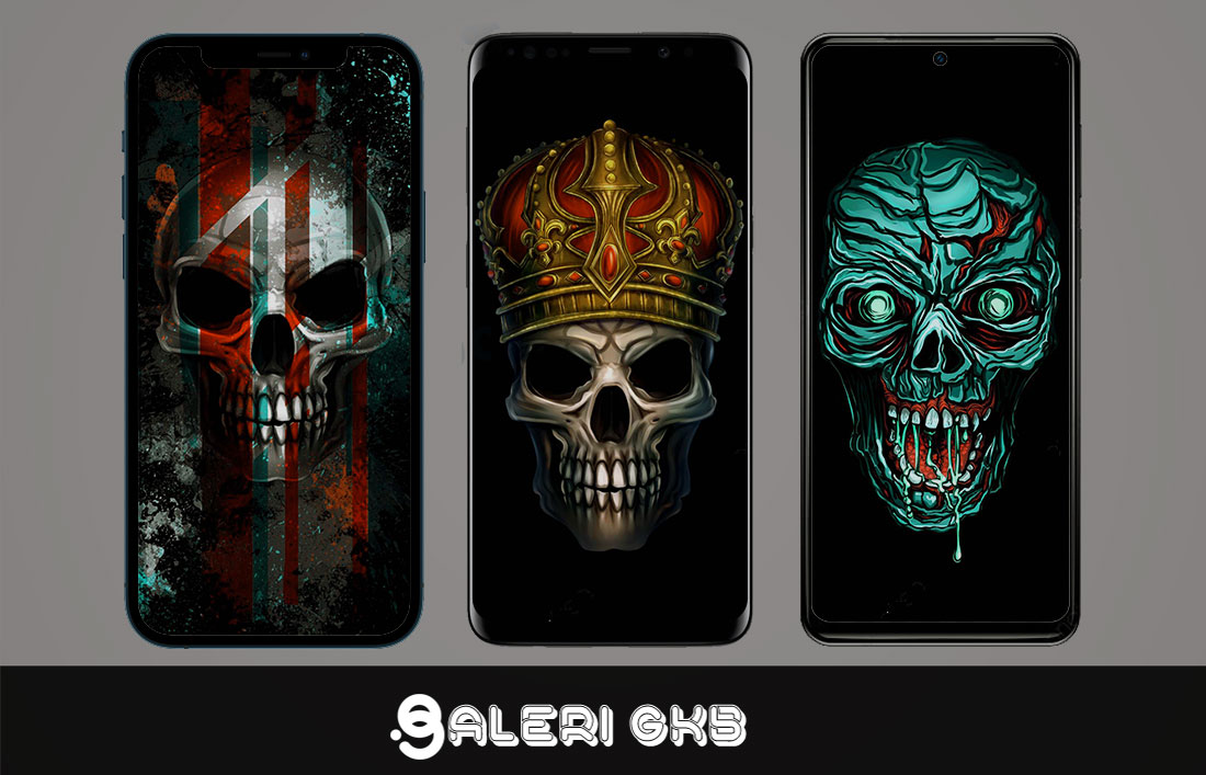 22 Glow Colorful Skull, Light Skull, Art Pattern HD Wallpapers 4K 5K for iPhone and Android