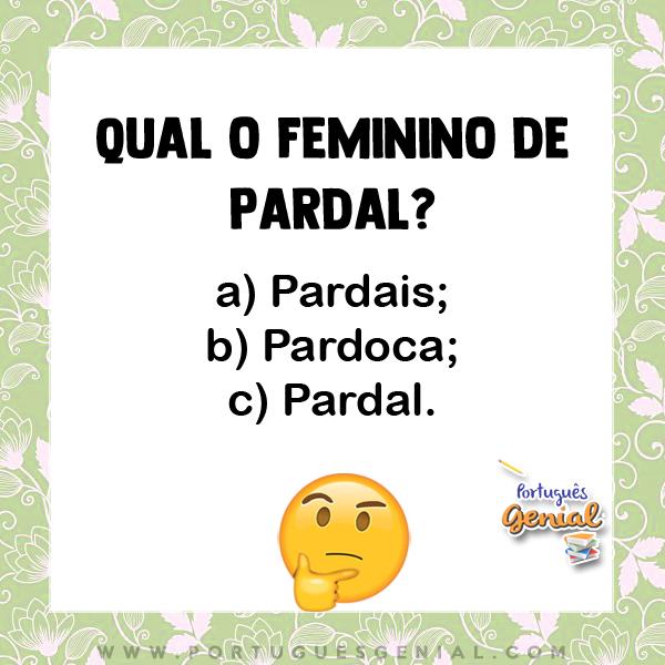 Feminino de pardal - Qual o feminino de pardal?