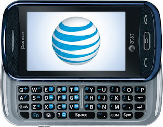 Pantech Laser full sliding keyboard phone for AT&T