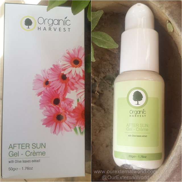 Organic Harvest After Sun Gel Creme - Review, Swatches