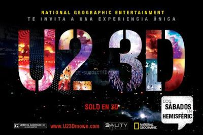 El planetario 'Las Nocturnas', la proyección del concierto de U2 en 3D y la película IMAX 'Viaje al Espacio' renuevan la cartelera de verano del Hemisfèric