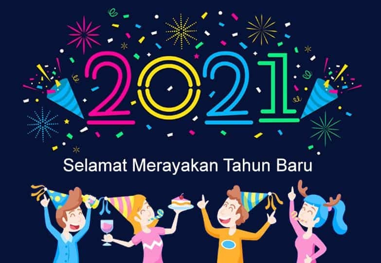 Gambar Ucapan Selamat Tahun Baru 2021 Review Teknologi Sekarang