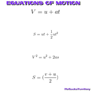 All the equations of motion