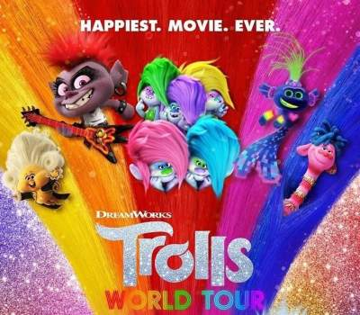 Trolls World Tour 2020 HSBS 3D Movies Download Dual Audio 1080p
