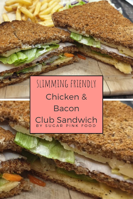 Chicken & Bacon Club Sandwich Recipe