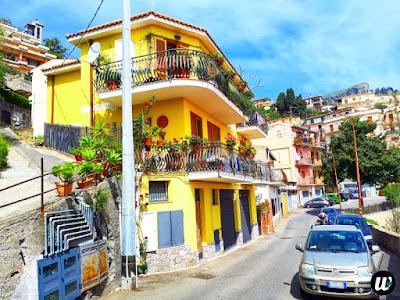 Road view, Taormina | Sicily, Italy | wayamaya