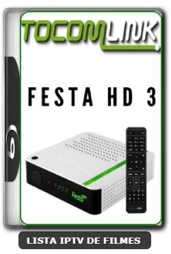 Tocomlink Festa HD 3 Nova Atualização Satélite SKS Keys 61w ON V1.07 - 31-03-2020
