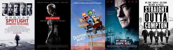Melhor Roteiro Original - Oscar 2016