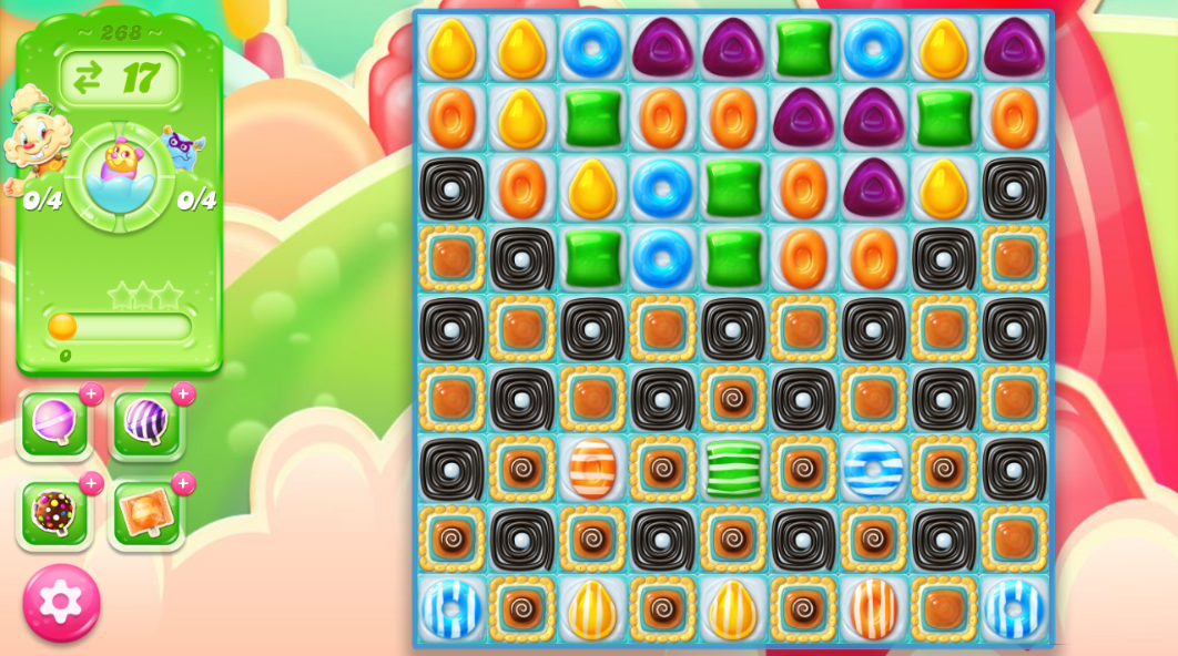 Candy Crush Jelly Saga 268