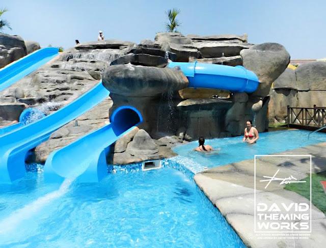 Theme water parks design dise o de parques acu ticos for Diseno de piscinas con toboganes