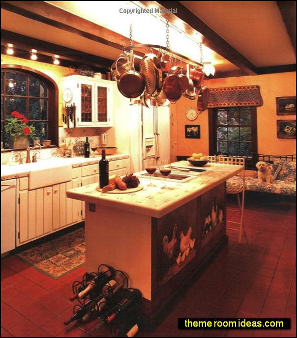 Country French Kitchens french country farmhouse decorating