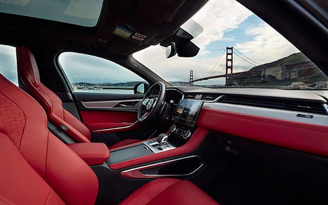 Jaguar F – Pace cung cấp nhiều tùy chọn màu sắc họa tiết