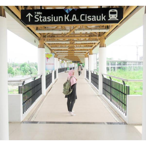 Eksplore Stasiun Cisauk dan Intermoda BSD City