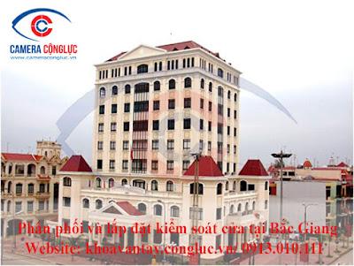Cung cấp và lắp đặt hệ thống kiểm soát cửa ra vào cho các tòa nhà, văn phòng công ty, doanh nghiệp tại tỉnh Bắc Giang