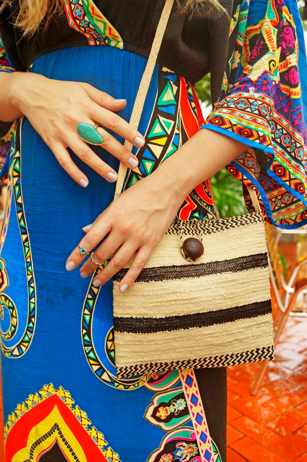 Cute Bag by Shop-Panama inspired by the Pintao hat, Panama's national hat