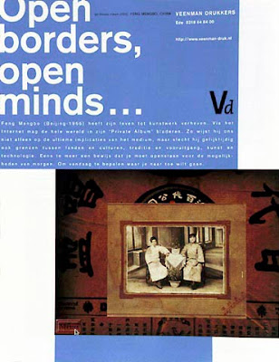 Feng Mengbo Veenman drukkers Open Borders Open Minds