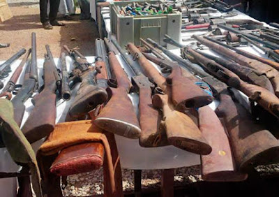 Nigeria Police Uncover Illegal Guns Factory