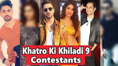 Khatron Ke Khiladi Season 9 Contestants List
