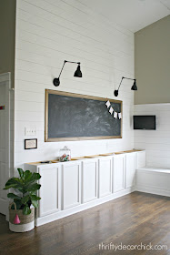 How to make a large DIY chalkboard