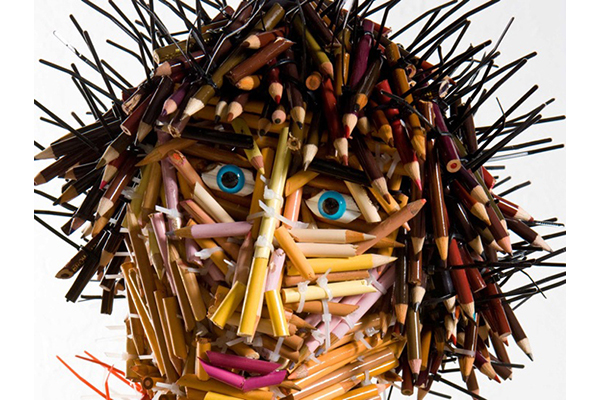 Федерико Урибе люди из цветных карандашей