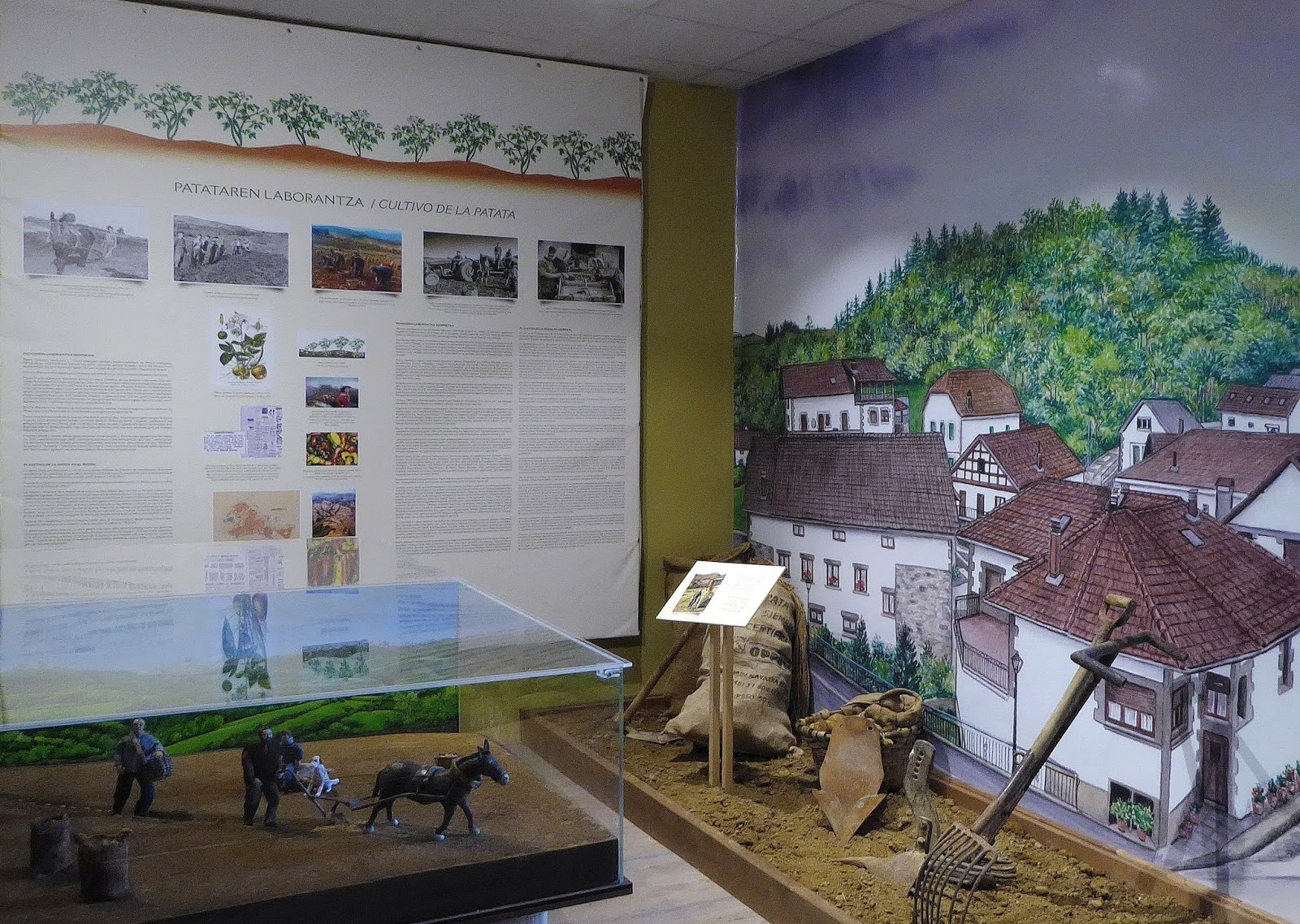 Museo etnográfico en Jaurrieta