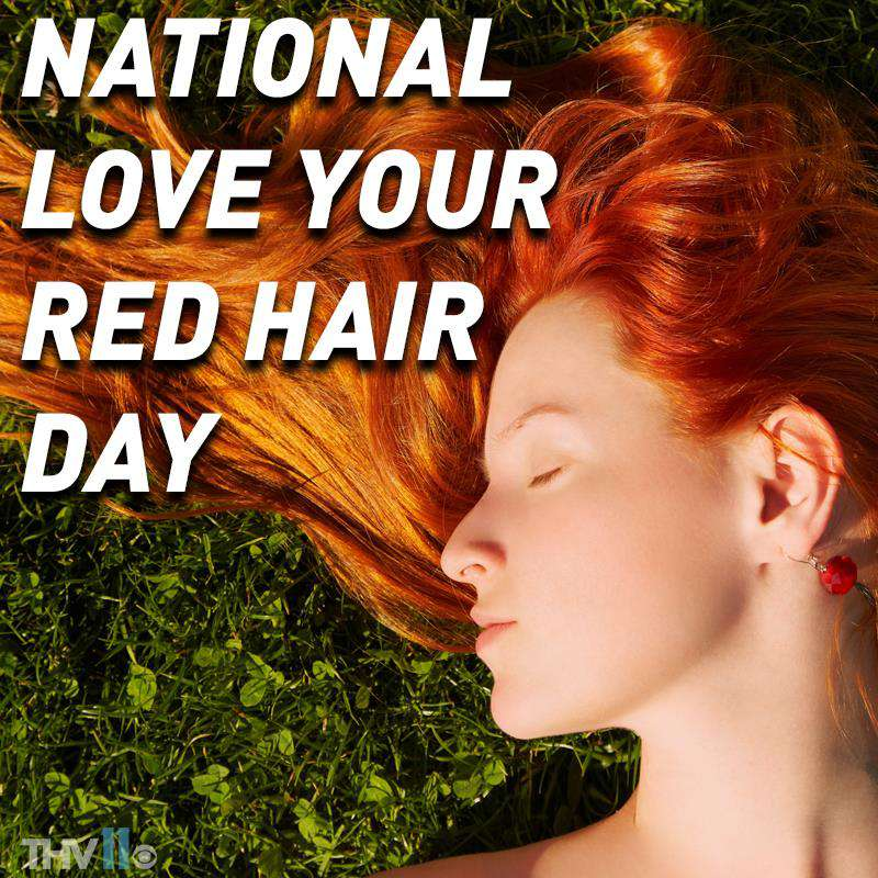 National Love Your Red Hair Day Wishes for Whatsapp