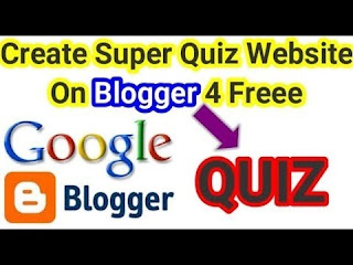 How To Create A Quiz Website on Blogger