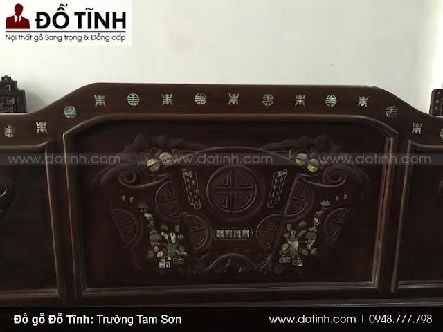Bộ trường kỷ Tam Sơn vai bò giá 25tr300