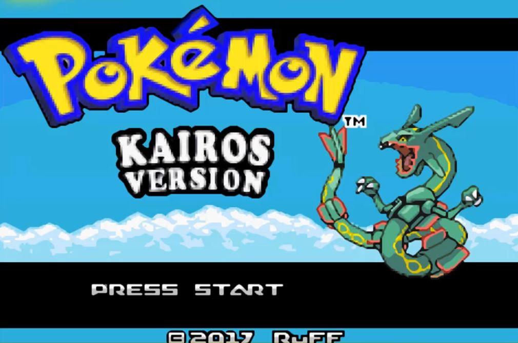 Pokemon Kairos para GBA Imagen Portada