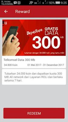 kuota internet gratis telkomsel redeem