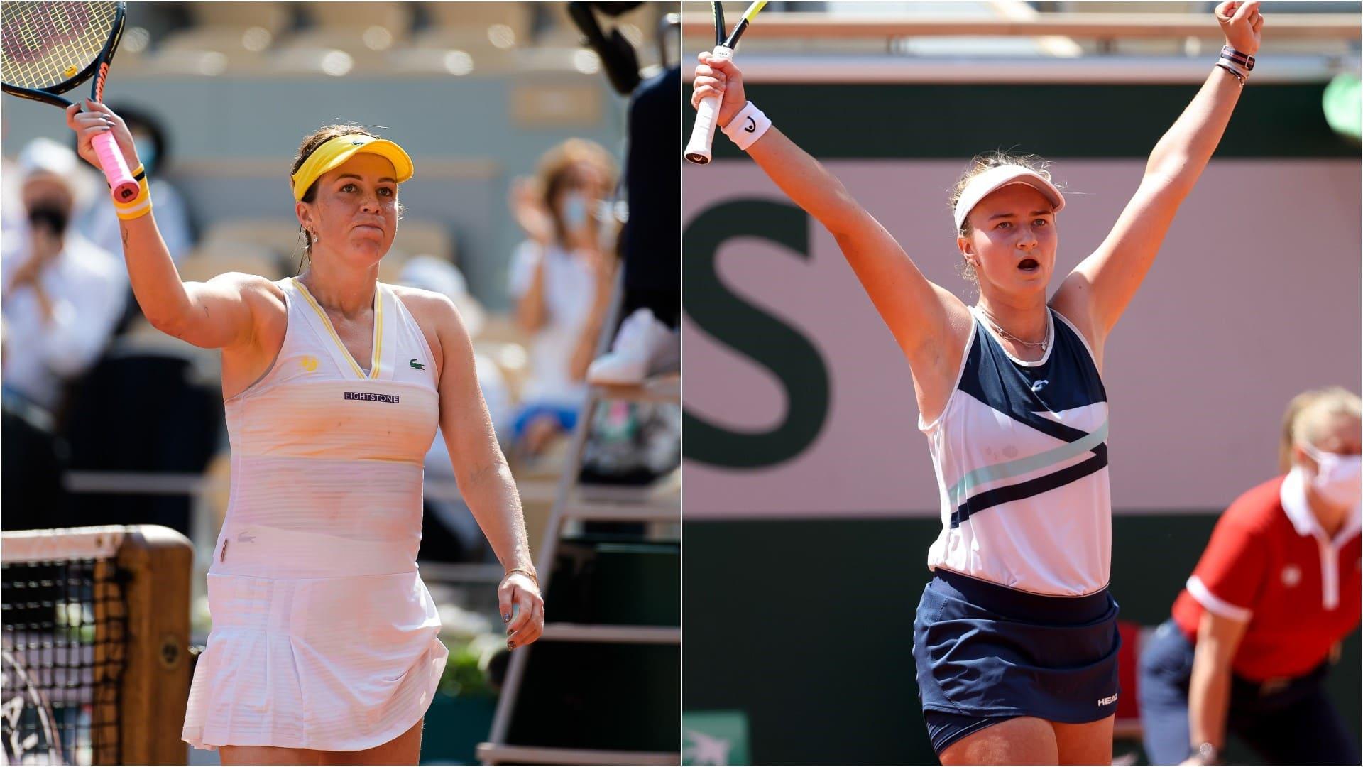 Pavlyuchenkova y Krejcikova jugarán la final femenina de Roland Garros