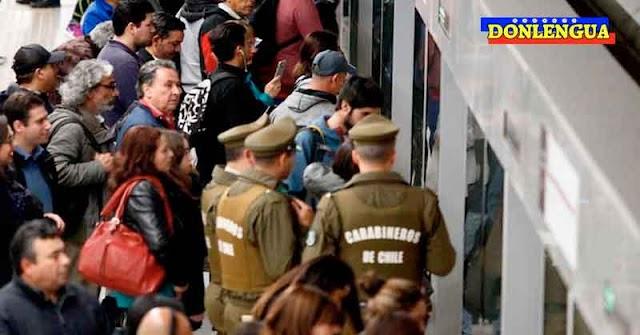 Venezolano fue assinado durante una riña producida en el Metro de Chile