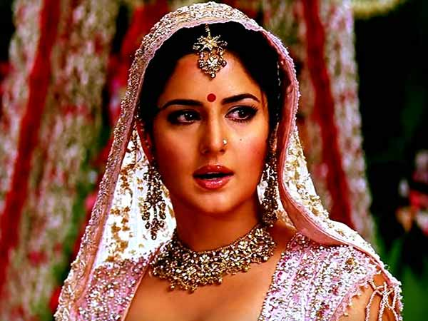 katrina in bridal look