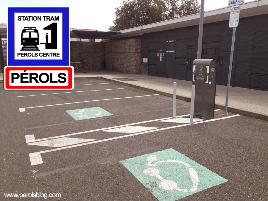 Station de recharge à Pérols