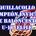 QUILLACOLLO CAMPEÓN INVICTO DEL BASQUET U-16