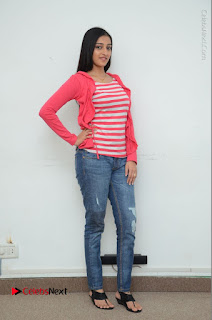 Telugu Actress Mouryani Latest Pos in Blue Denim Jeans  0227.JPG