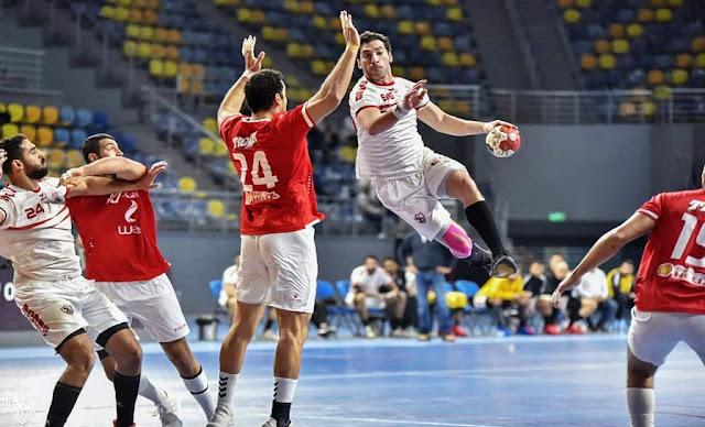 موعد مباراة الأهلي والزمالك بالسوبر الإفريقى لكرة اليد والقنوات الناقلة al ahly vs zamalek final african super cup handball
