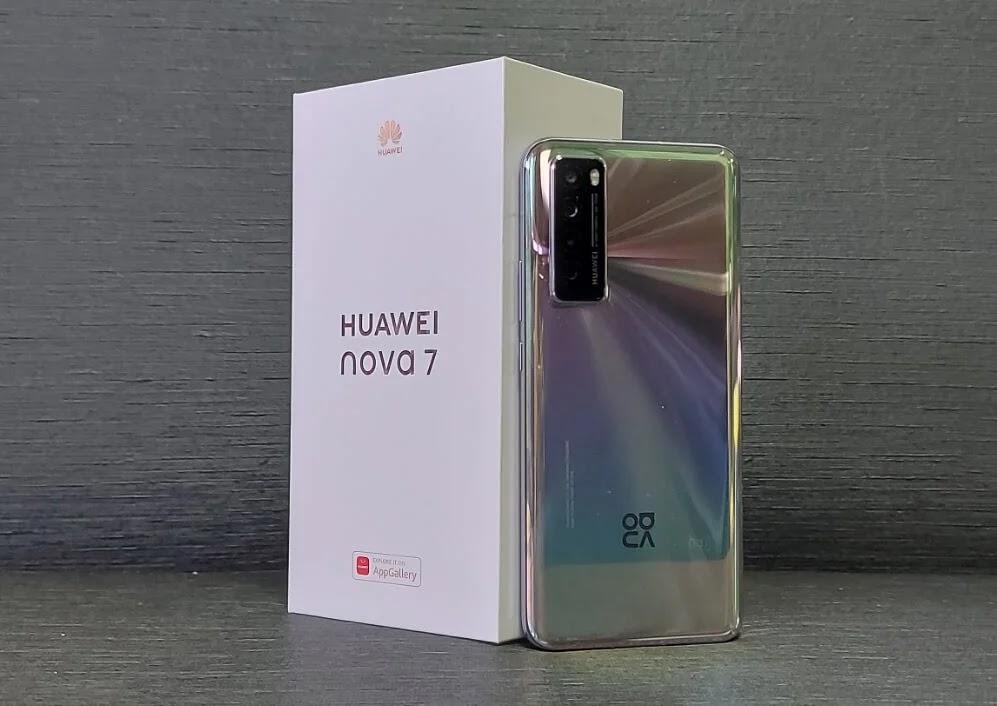 Huawei Nova 7 Back