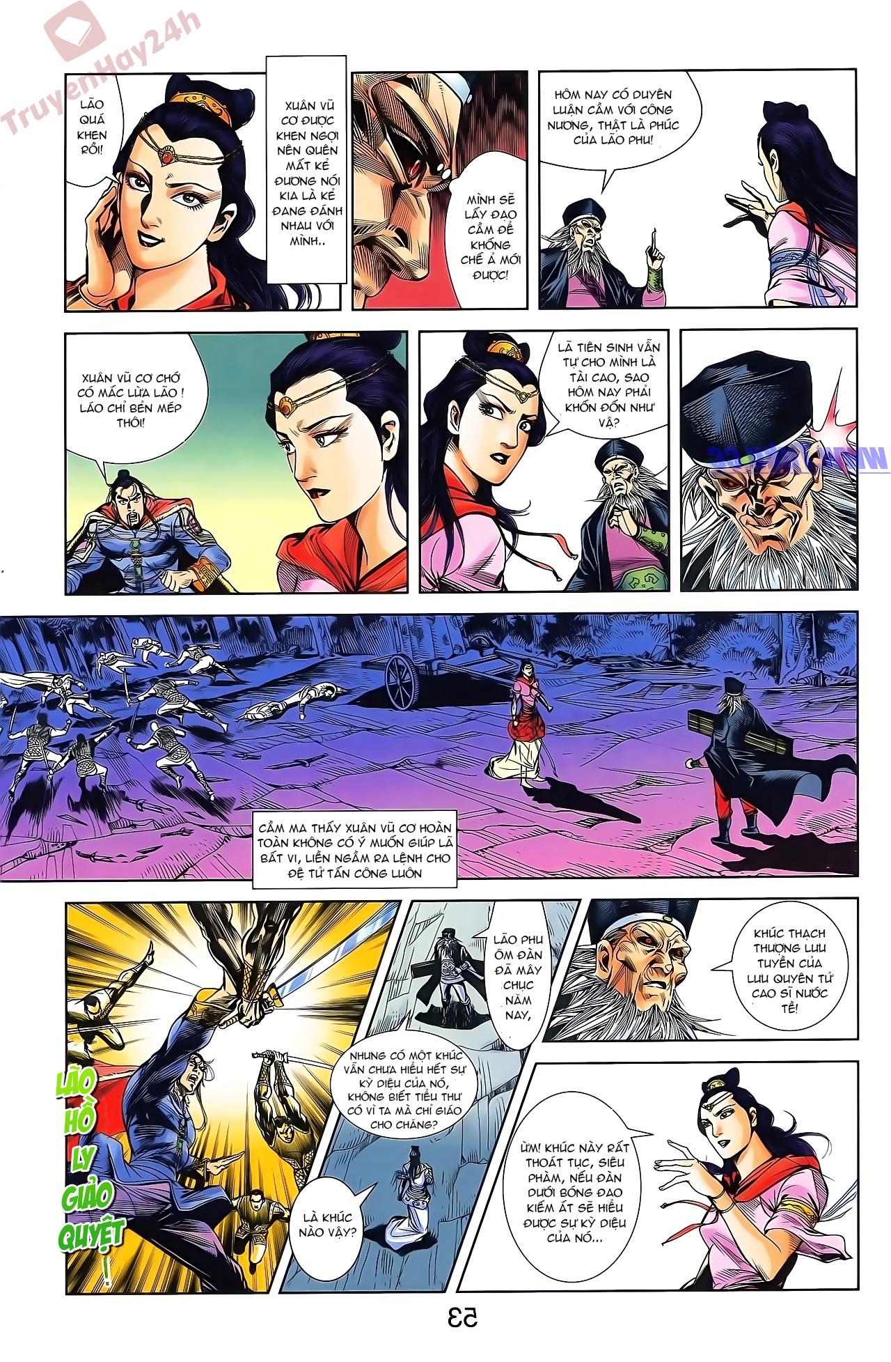 Tần Vương Doanh Chính chapter 46 trang 19