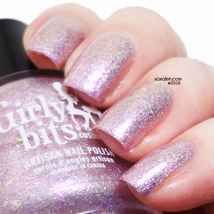 xoxoJen's swatch of Girly Bits Addicted to Love
